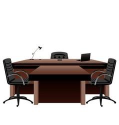 Directors office vector