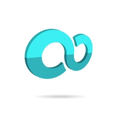 Infinity concept icon vector