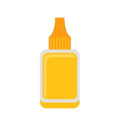 nail polish remover poster vector image