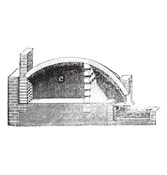 Vintage Pottery Kiln vector