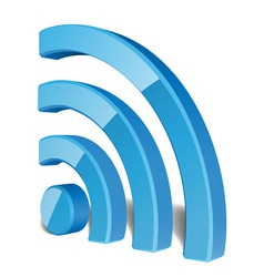 Wi Fi Wireless Network Symbol vector image