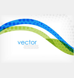 business corporate abstract backgrounds wave vector image vector image
