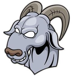 Head Goat vector image