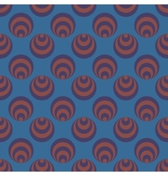 Polka dot and circle geometric seamless pattern 72 vector image