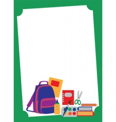 School and eduction template vector