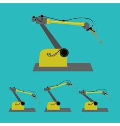 Industrial robot vector