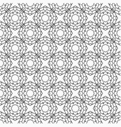 Abstract seamless line pattern vector