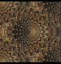Copper textured 3d greek seamless pattern vector