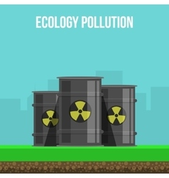 Environmental Pollution Poster vector