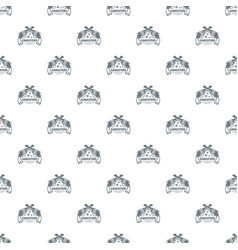 gangsters pattern seamless vector image