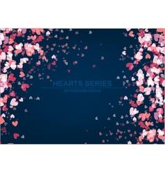 Heart background design iii vector
