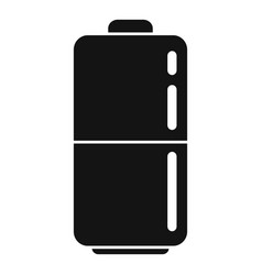 Survival battery icon simple style vector