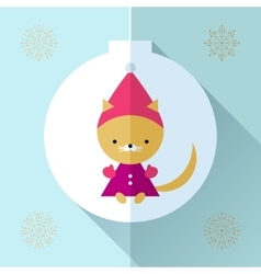 Toy greeting card vector