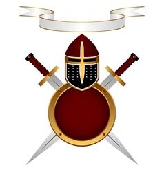 armor knight vector image