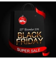 Black Friday 8 vector image vector image