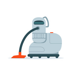 robot vacuum cleaner vector image vector image