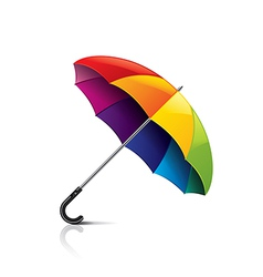 colorful umbrella isolated vector image