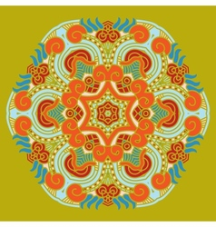 Ornamental ethnicity pattern vector image