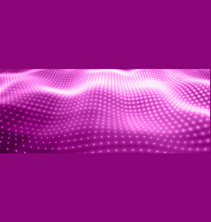 Abstract background with violet neon vector