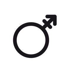 androgyne symbol gender and sexual orientation vector image