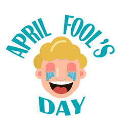 April fool s day vector