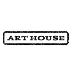 Art house watermark stamp vector