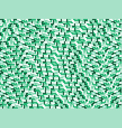 background in style pixel green vector image