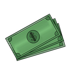 banknote bank money currency cash vector image vector image