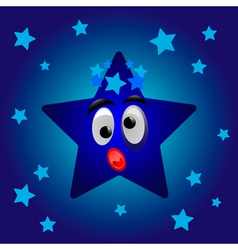 Cartoon star vector