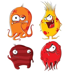 Evil monsters vector