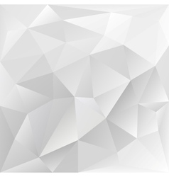 Grey polygonal texture corporate background vector