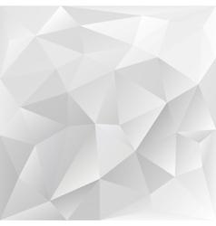 Grey polygonal texture corporate background vector
