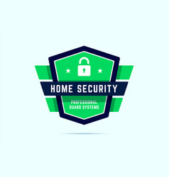 home security badge ultimate protection stamp vector image