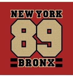 New York striker bronx the best in the team vector