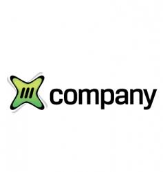 online digital content logo vector image