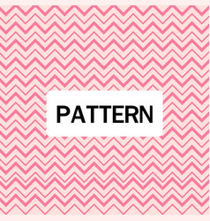 pink zigzag pattern pink background image vector image