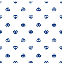 seamless pattern with silhouettes diamonds vector image
