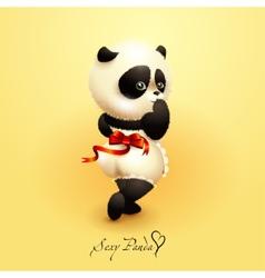 Sexy Panda vector