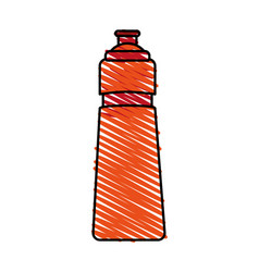 Sport water bottle vector