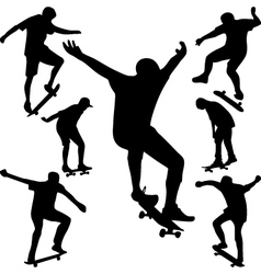 skater vector image vector image