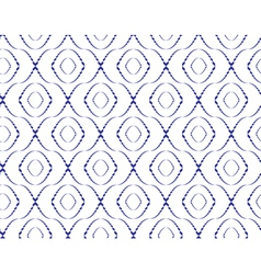 Abstract seamless pattern with ellipse-shape figur vector image