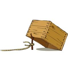trap vector image vector image