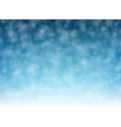 Christmas background with defocused snowflakes vector