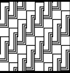 Design seamless monochrome spiral twisted pattern vector
