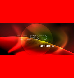 glowing shiny light abstract background vector image