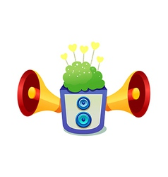 Icon speaker vector