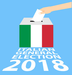 Italian general election 2018 vector