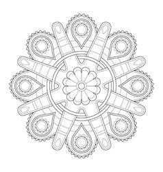 Mandala ornamen vector