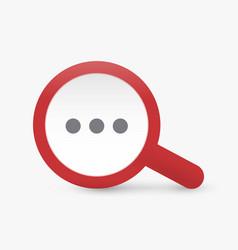 search icon seo big data symbol web vector image