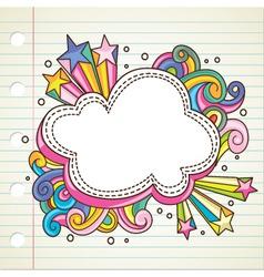 bubble banner vector image